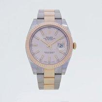 勞力士 (Rolex) 126331-72611 SUNDUST DateJust Everose Rolesor 41mm