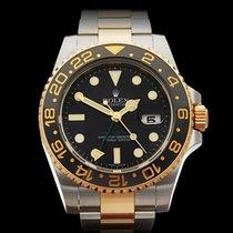 ロレックス (Rolex) GMT-Master II Ceramic Stainless Steel/18k Yellow...