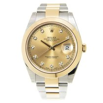 勞力士 (Rolex) Datejust Gold And Steel Gold Automatic 126303GCH_O