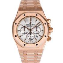 Audemars Piguet AP Royal Oak Chronograph 41 Rose Gold Watch