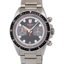 Tudor Heritage Chronograph Automatic Men's Watch – 70330N