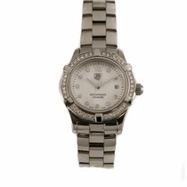 TAG Heuer Aquaracer Ladies Mother of Pearl and Diamond Watch...