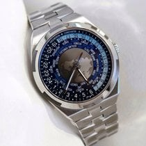 Vacheron Constantin Overseas World Time Stainless Steel Watch