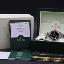 Rolex GMT-Master II 16710 F SERIES NO HOLE FULL SET