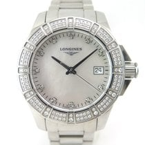 Longines Conquest diamonds L3.280.0.87.6 full set