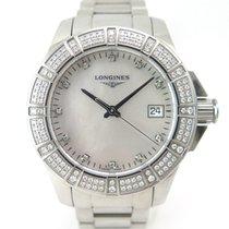 Longines Conquest diamonds L3.280.0.87.6 full set