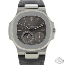 Patek Philippe 5712G Nautilus White Gold  Moonphase Power...