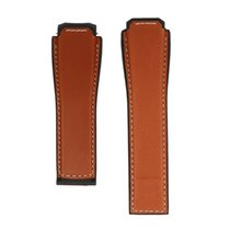 TAG Heuer CO NNECTED Brown calfskin leather strap