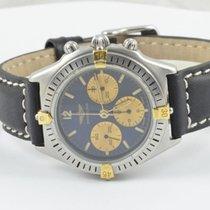 Breitling Chrono Callisto Herren Uhr Stahl/gold Handaufzug...