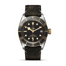 튜더 (Tudor) HERITAGE BLACK BAY S&G Steel-Black Dial &...