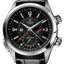 Tudor Heritage Advisor 79620TN Black Arabic & Index...