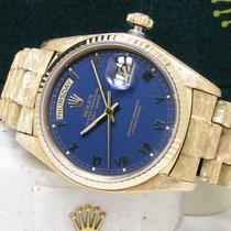 Rolex Men's Day-Date 36mm Morellis President Blue Roman Dial...