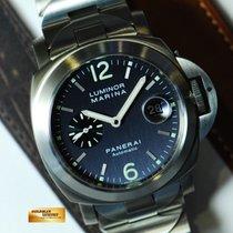 파네라이 (Panerai) Luminor Marina Pam 91 Automatic (rare Blue) (mint)