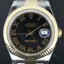 Rolex Datejust II Gold/Steel Black Roman Dial,Full Set 41MM...