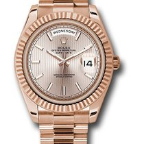 Rolex Unworn 228235SDSMIP Day-Date Mens 40mm in Rose Gold with...