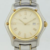 Ebel 1911 Quartz Steel-Gold 74600802