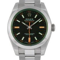 Rolex Milgauss Green Glass 116400 GV