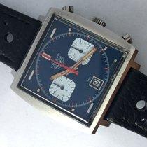 Heuer Rare Vintage Heuer Monaco 740303 Steve Mc Queen Manual...