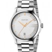 Gucci G-Timeless Restyle Cadran Argent 27 mm Acier YA126523