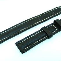 Breitling Band 15mm Neo Black Negra Strap Correa 15-22