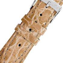 Morellato A01X2197052026CR20 braunes Krokodilleder Uhrenarmban...