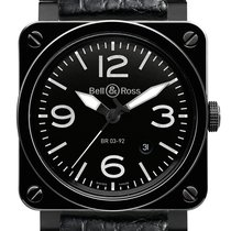 Bell & Ross Aviation Ceramic Black