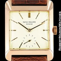 Patek Philippe Vintage Oversized 1940's 18k Rose Gold Square 2488