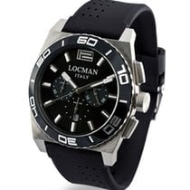 Locman Stealth 021200KA-BKKSIK Quarz Chronograph Men's Watch