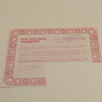 Τούντορ (Tudor) Warranty Certificate Ref: 76200