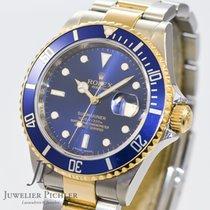 Rolex Submariner Stahl Gold LC 100  Ref. 16613 Box & Papiere
