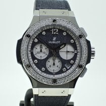Hublot Big Bang Glossy Jeans Diamonds - Lim. Edition - Neuzustand