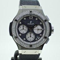 Hublot Big Bang Glossy Jeans Diamonds - Lim. Edition - Neuzustand