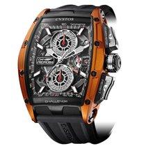 Cvstos Challenge GT Chrono 2 Black & Orange Titanium...