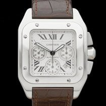 Cartier Santos 100 XL Chronograph Stainless Steel Gents 2740
