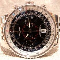 Breitling A23340 Montbrilliant Legende Chrono  Black Dial 47mm