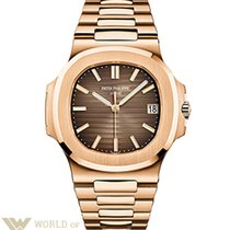 Patek Philippe Nautilus 18K Rose Gold Watch