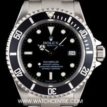 Rolex Stainless Steel O/P Black Dial Sea-Dweller Gents B&P...