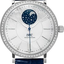 IWC Portofino Midsize Automatic Moon Phase  in Edelstahl