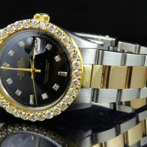 Rolex Datejust 2 Tone 18k Gold 36MM Stainless Steel Oyster...