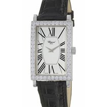 Chopard 173527-1001 Classique in White Gold with Diamond Bezel...