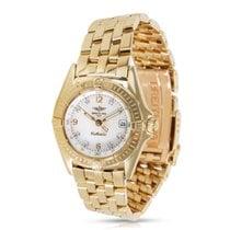 Breitling Callistino K5204512MD Ladies Watch in 18K Yellow Gold