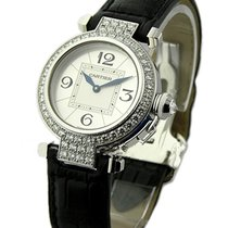 Cartier WJ11922G Pasha 32mm - White Gold - Diamond Bezel and Lugs
