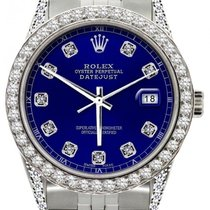 Rolex Datejust Midsize 36mm Blue Dial Stainless Steel Bracelet