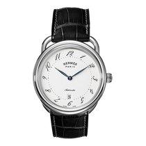 Hermès Arceau Automatic TGM 41mm Mens Watch Ref AR7.710.220/MNO