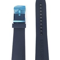 Breitling 24-20 mm Blue Rubber Strap 139S