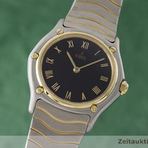 Ebel Lady Classic Wave Damenuhr Gold / Stahl Classicwave