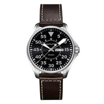 Hamilton Khaki Aviation Pilot Mens Watch Ref H64611535