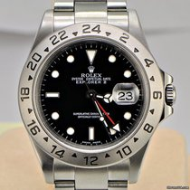 Rolex Explorer II 40mm / Black Dial / Y Series / 16570