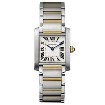 Cartier Tank Francaise Automatic Ladies Watch Ref W2TA0003