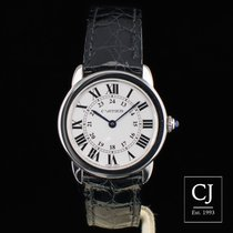 Cartier Ronde Solo de Cartier 29mm Small Size Ladies Steel